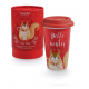 "Winter Animals Tazza Thermos ""Nutty"""